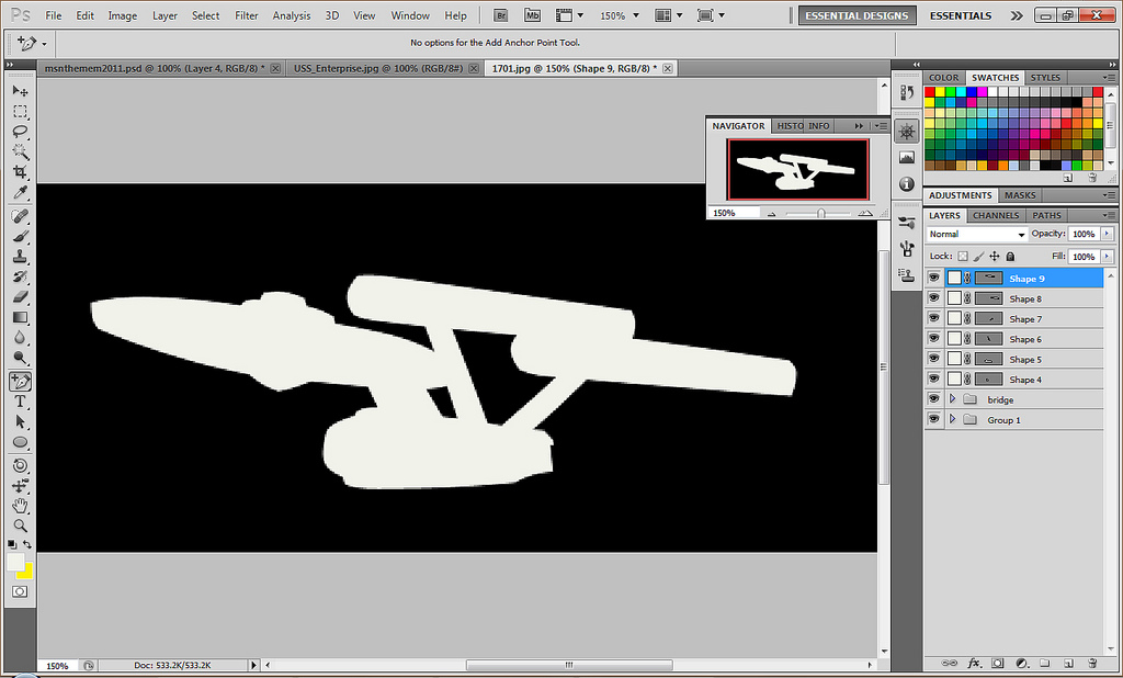 1024x618 Enterprise Vector Wip Space... The Final Frontier. These