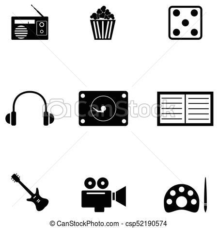 450x470 Entertainment Icon Set.
