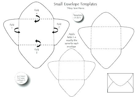 450x318 Die Cut Vector Envelope Template Standard Size To Hold Folded