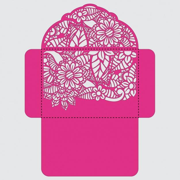 626x626 Envelope Template Design Vector Free Download