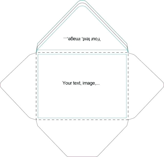 640x612 Vertical Envelope Template Vector Product Photos 8 Skincense.co