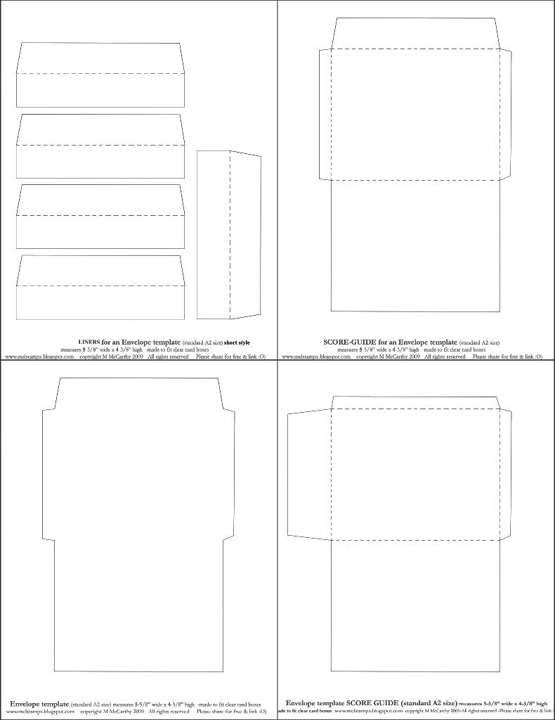 790x1024 A 2 Envelope Size