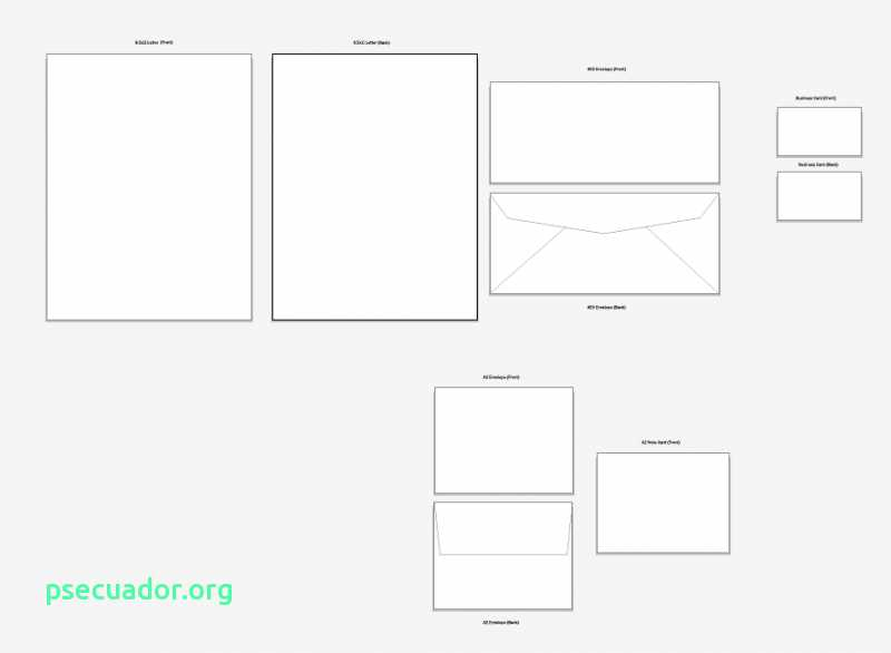 800x586 Business Envelope Template Illustrator Awesome Luxury Vector