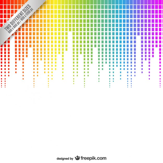 626x626 Abstract Equalizer Background Vector Free Download