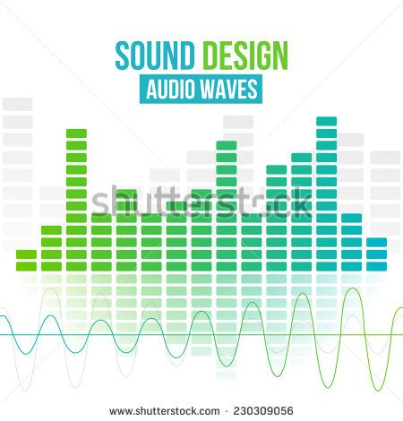 450x470 Amplifiers Digital Equalizer Vector Background. Vector