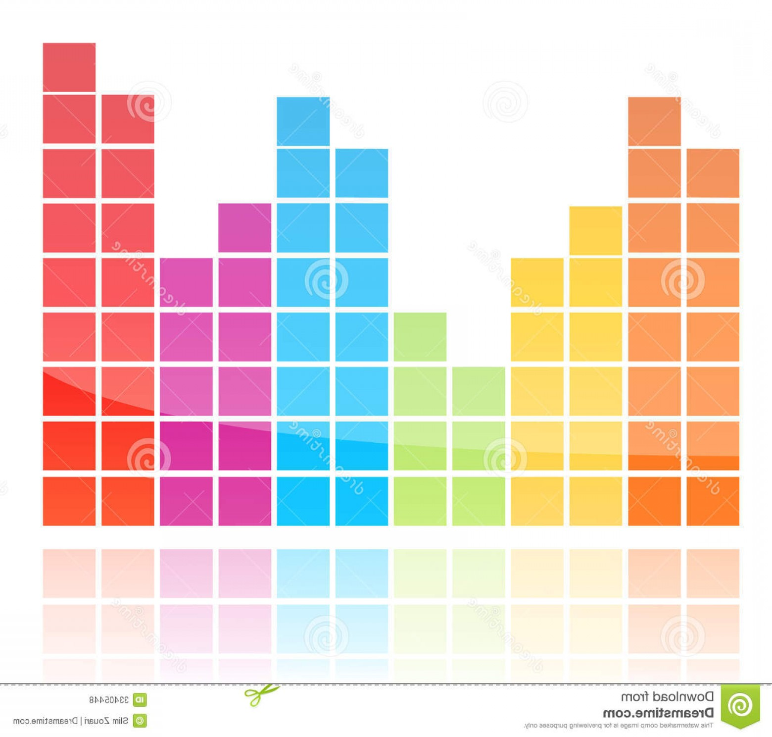 1560x1488 Royalty Free Stock Photos Shiny Colorful Equalizer Vector Graphic