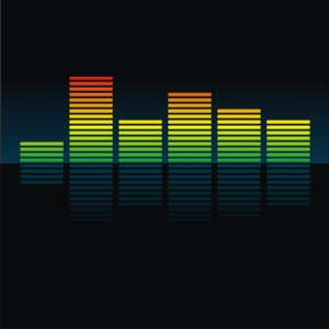 300x300 Colorful Equalizer Vector