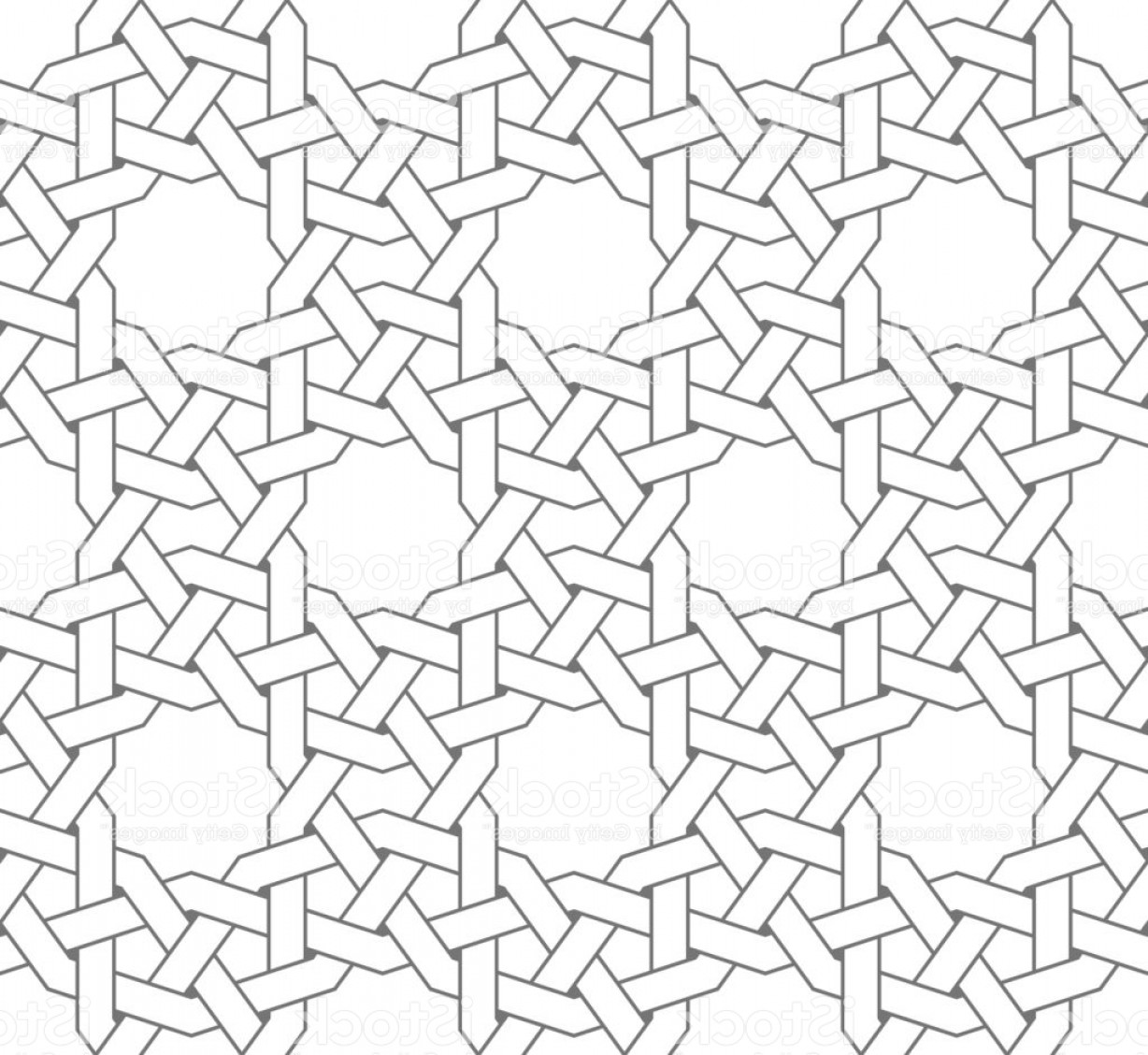 1228x1128 Islamic Vector Geometric Ornaments Based On Traditional Arabic Art