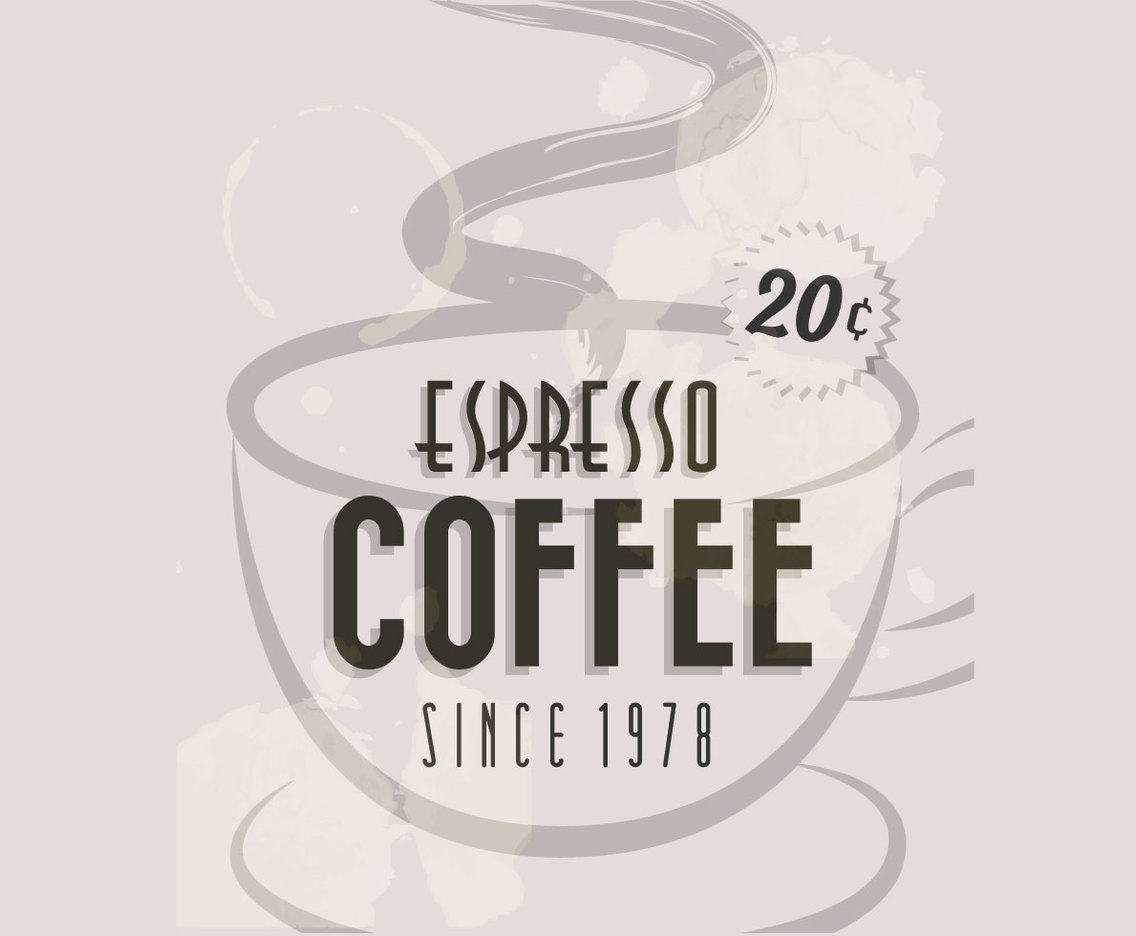 1136x936 Espresso Coffee Coffee Cup Vector Vector Art Amp Graphics