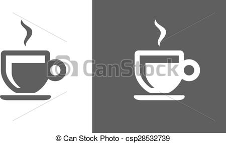 450x286 Espresso Icon. Two Tone Version Of Espresso Vector Icon On White