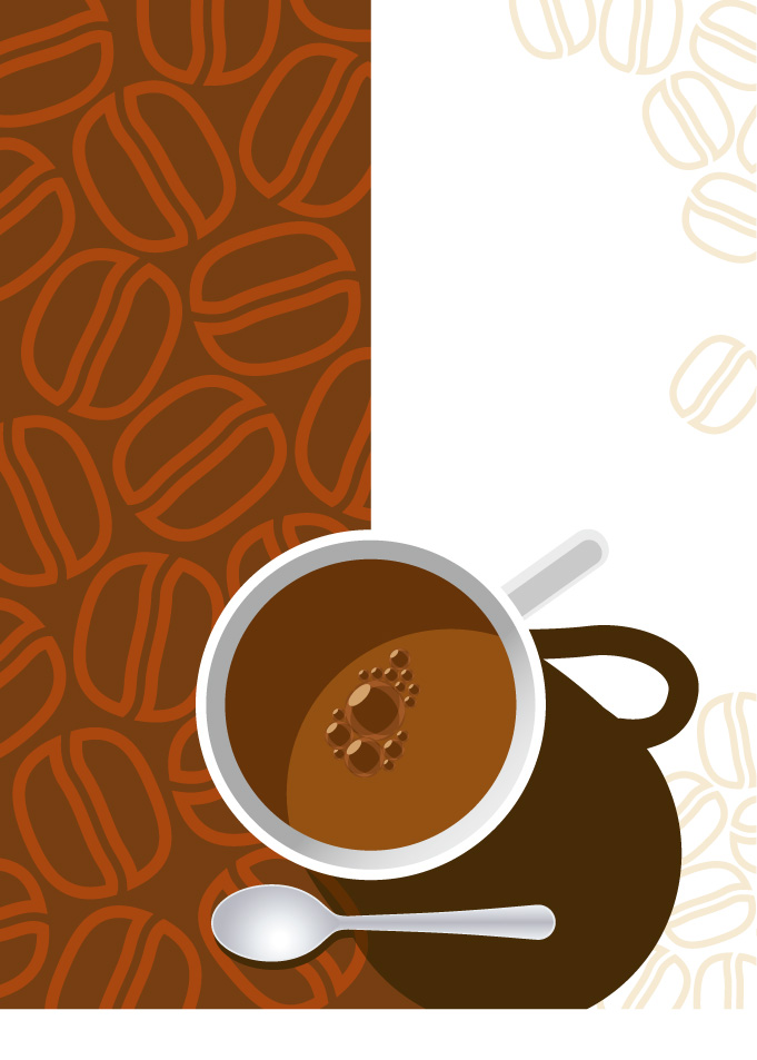 681x953 Vector Espresso Coffee Cups Free Vector 4vector