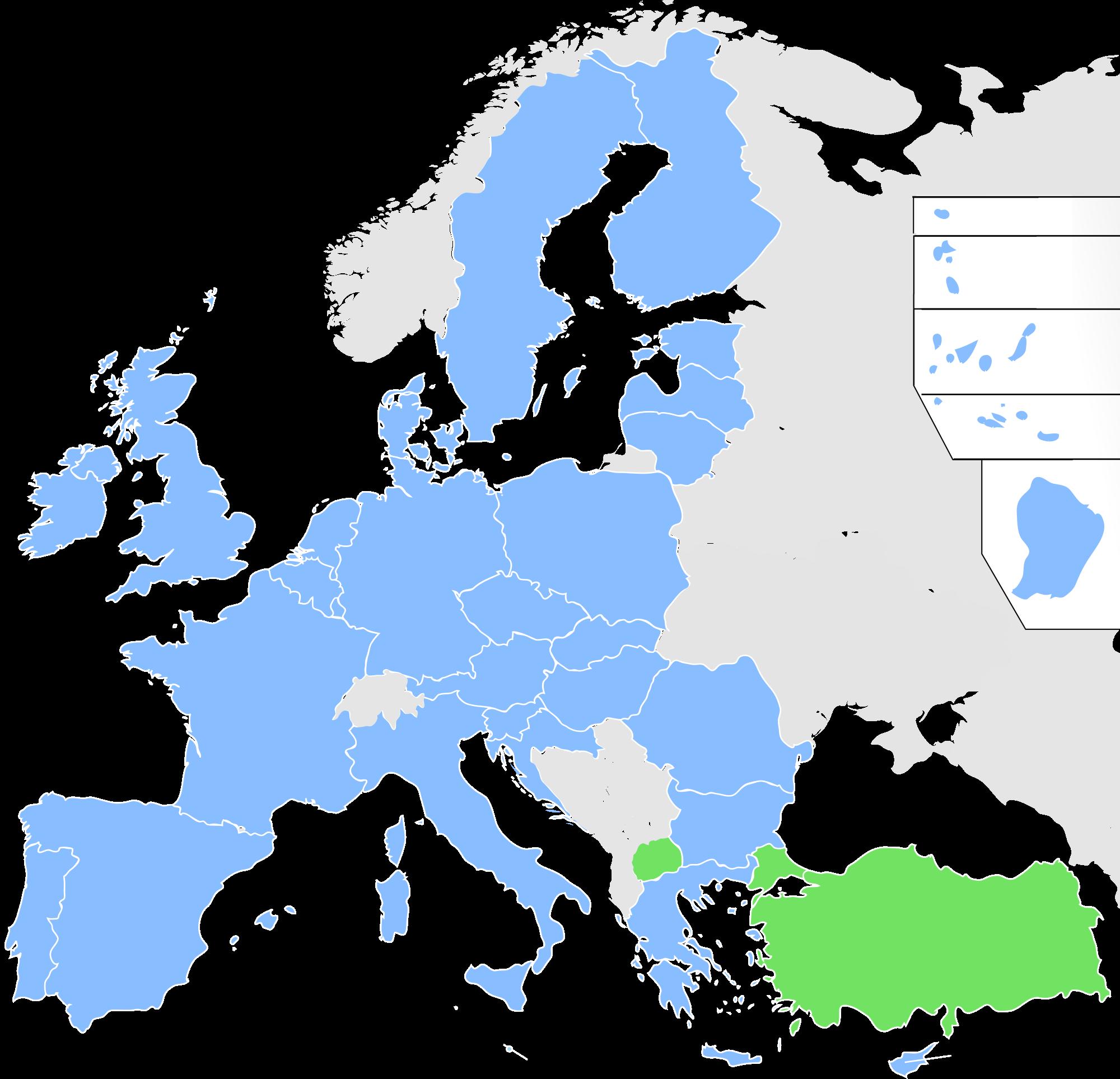 Eu Map Vector at GetDrawings com | Free for personal use Eu