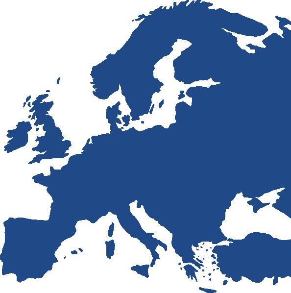 594x598 Europe Map Clip Art Map Of Europe Equidistant Clip Art