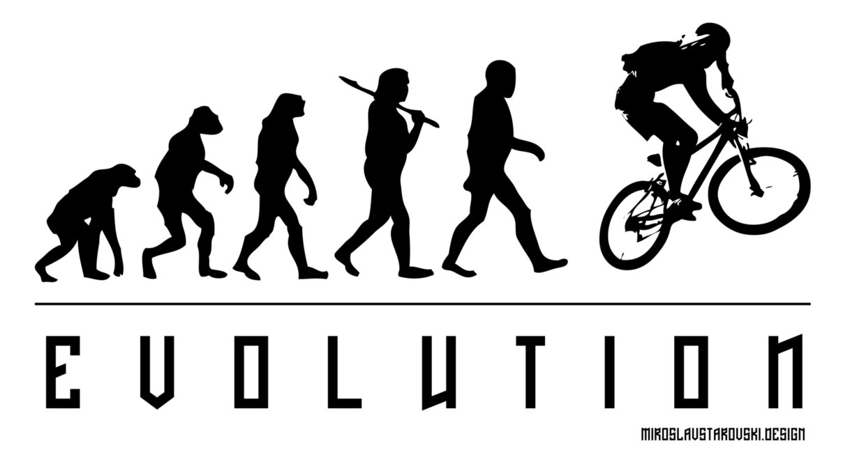 1218x656 Evolution Of Biking By Mikithemaus