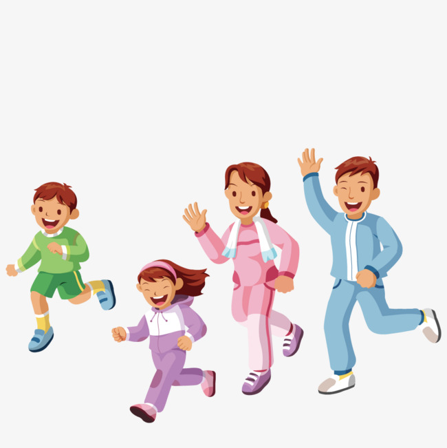 650x651 Running A Family Exercise, Vector, Run, Family Png And Vector For