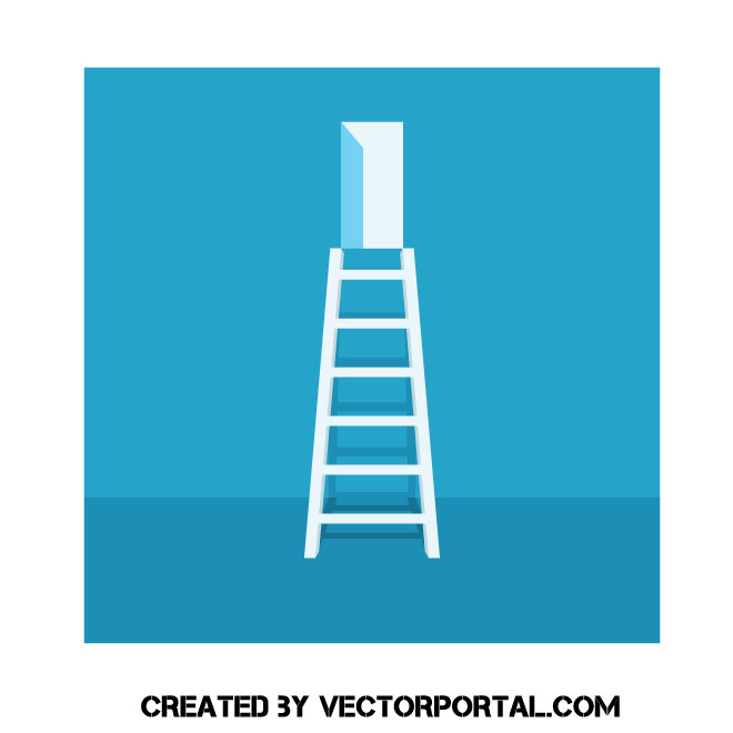 660x660 Ladder To Exit Vector Graphic