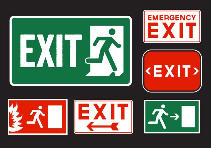 700x490 Emergency Exit Signs