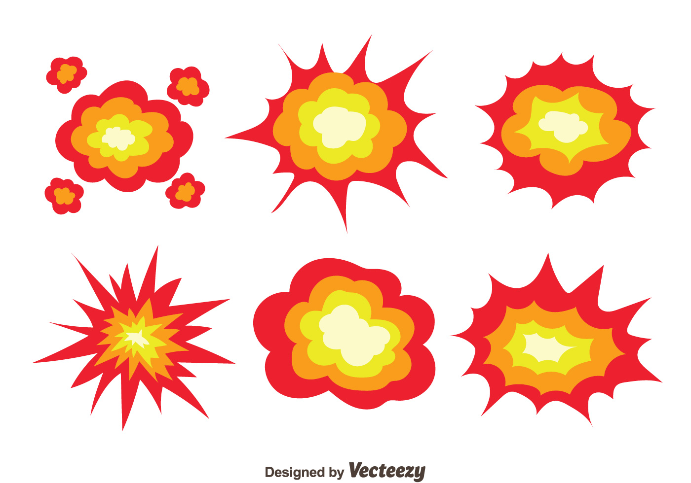 1400x980 Explosion Free Vector Art