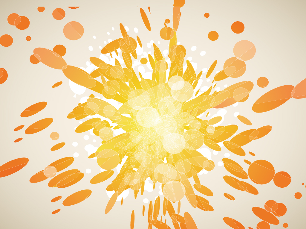 1024x765 Orange Explosion Vector Graphics Vector Art Amp Graphics