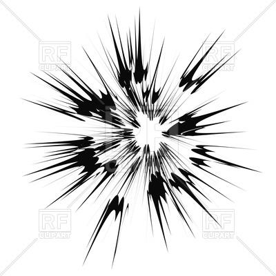 400x400 Cartoon Explosion, Star Burst Vector Image Vector Artwork Of