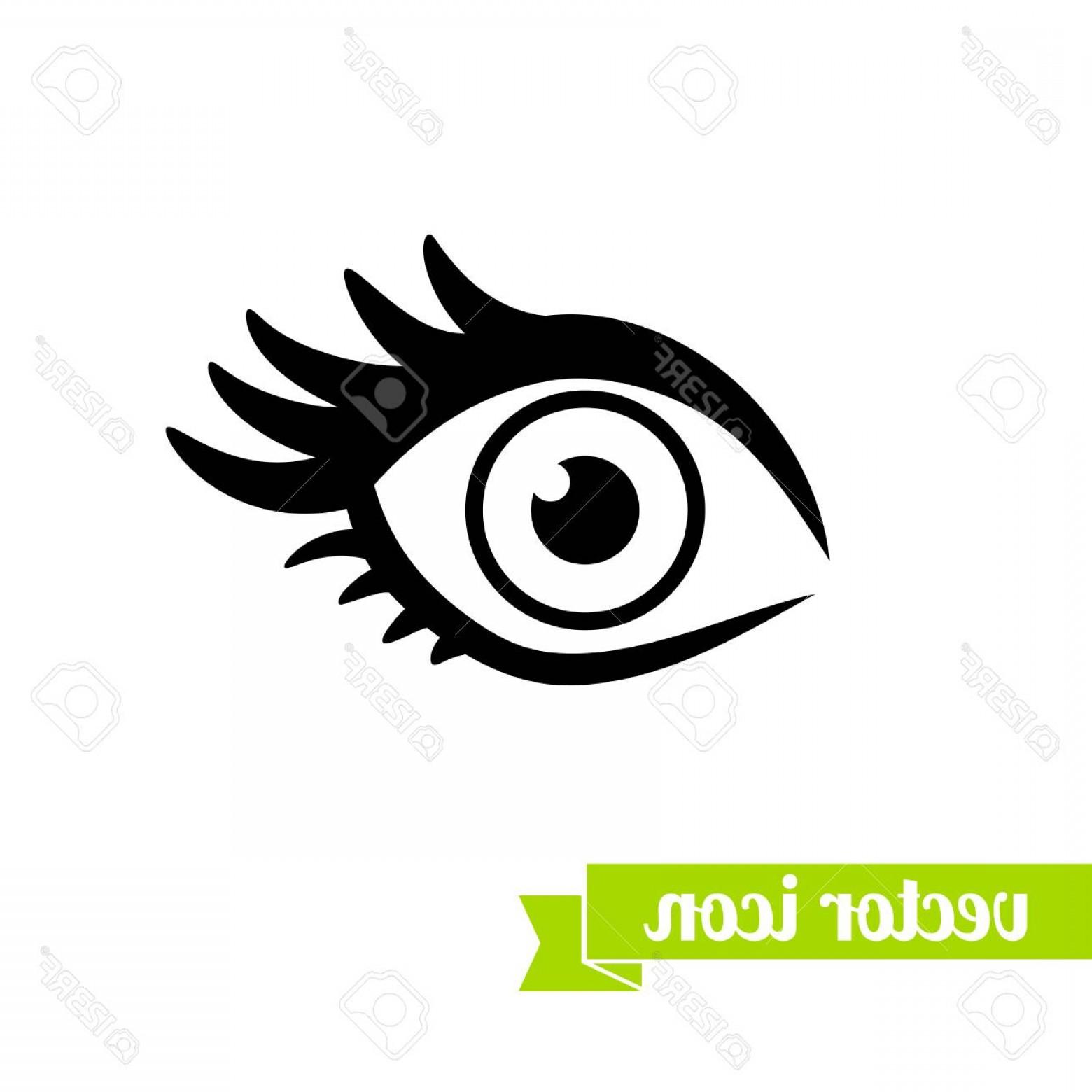 1560x1560 Photostock Vector Eye Icon Vector Flat Eye Icon Eye Icon For Web