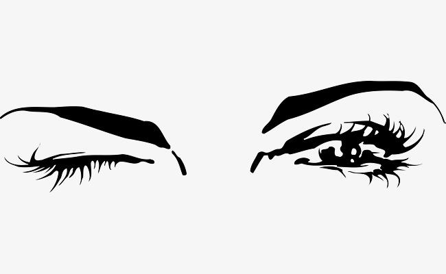 650x400 The Eye Vector Of Blinking Eyes, Originality, Simple Eye, Eye