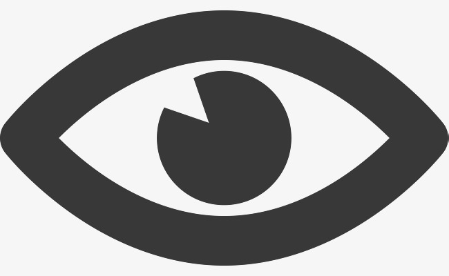 650x400 Cartoon Eye Vector, Simple Eye, Eye Simple Stroke, Left Eye Png