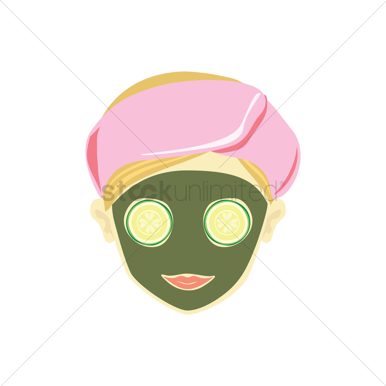 1300x1300 Free Herbal Face Mask Vector Image