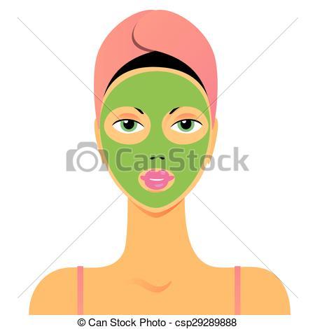 450x470 Beauty Mask. Face Mask