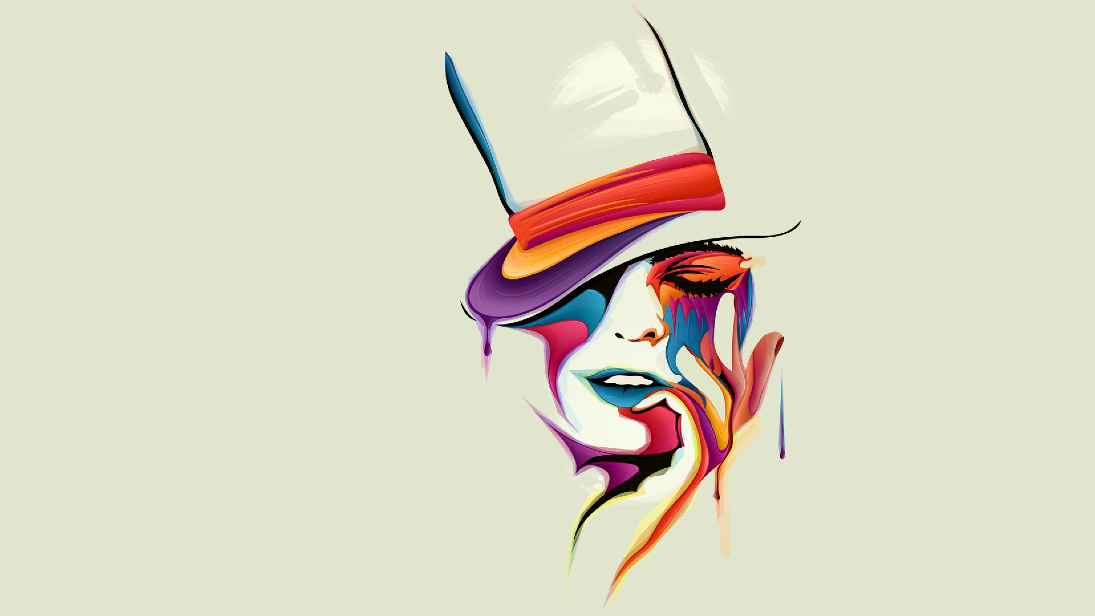 3840x2160 1600x900 Face Vector Art 1600x900 Resolution Hd 4k Wallpapers