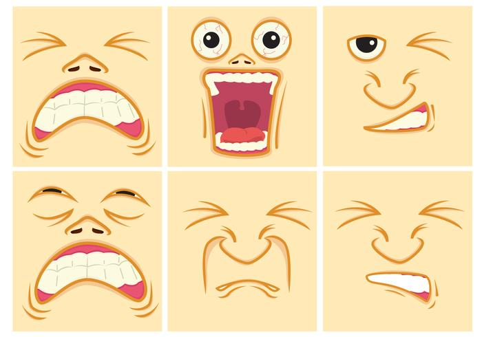 700x490 Face Free Vector Art