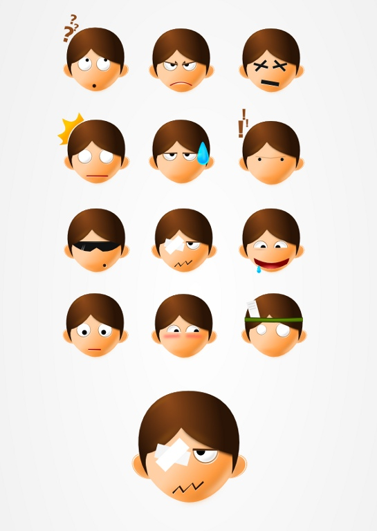 545x768 Vector Faces
