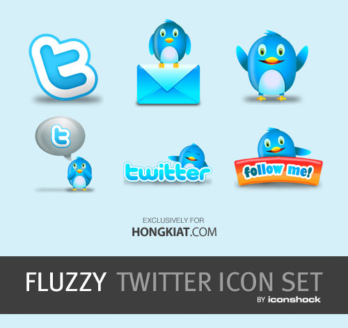 500x471 Ultimate Set Of Facebook Amp Twitter Icons Vector Material