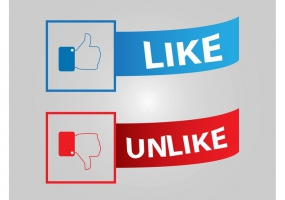 285x200 Facebook Button Free Vector Graphic Art Free Download (Found 4,102