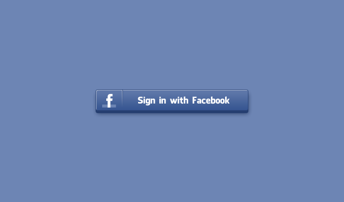 680x400 Free Sign In Facebook Button Psd Files, Vectors Amp Graphics