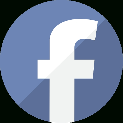 512x512 Facebook Logo Vector Circle Free Design Templates