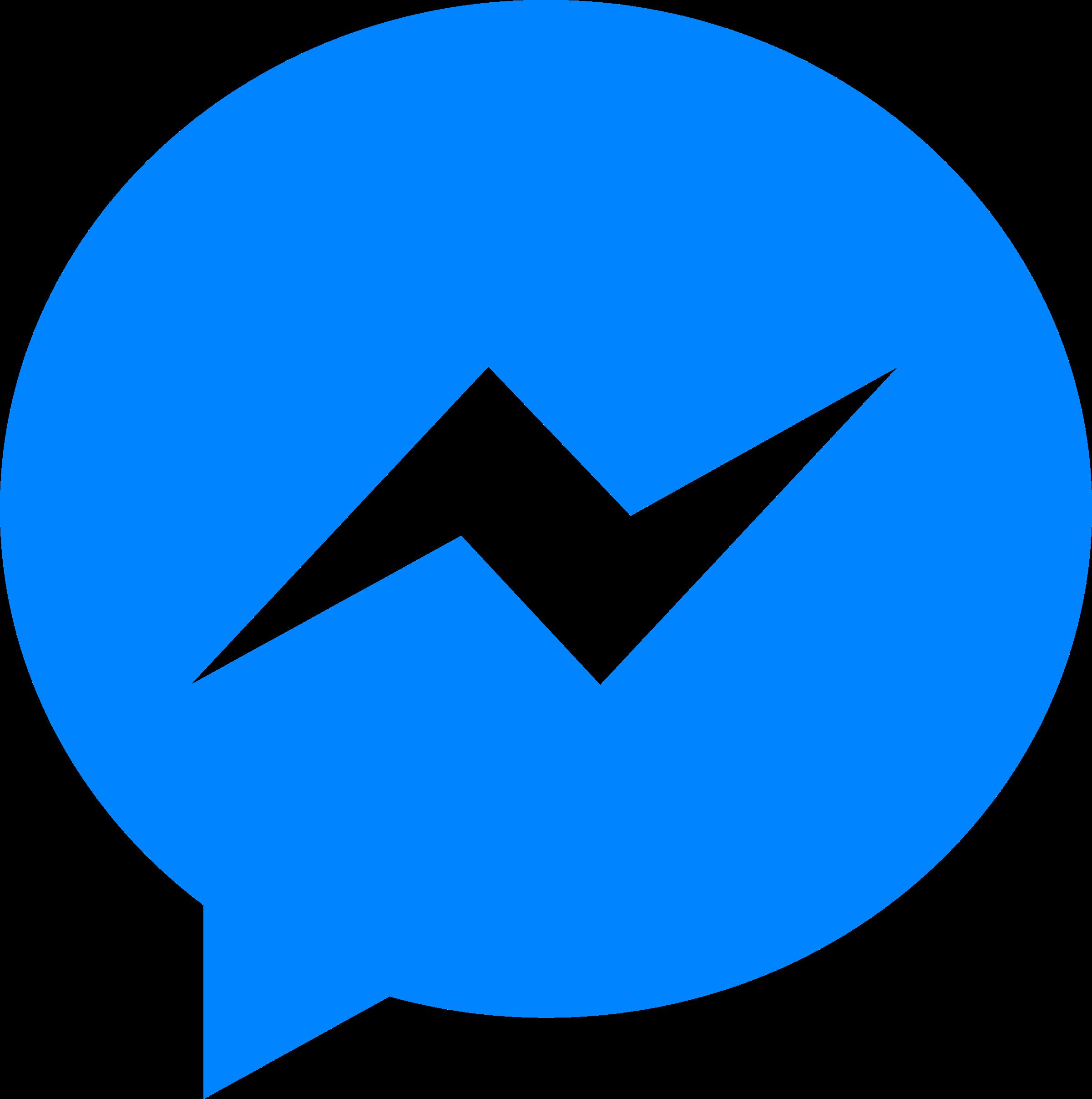 2400x2414 Facebook Messenger Logo Svg Vector Amp Png Transparent