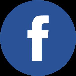 300x300 Facebook Icon Circle Logo Vector (.eps) Free Download