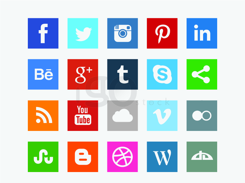 801x601 Facebook F Vector Social Icon Color Instagram Skype Color