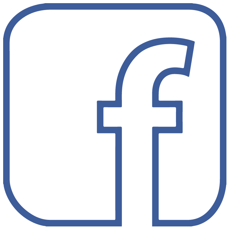 800x800 Facebook F Icon Logo Outline Transparent Vector Free Vector