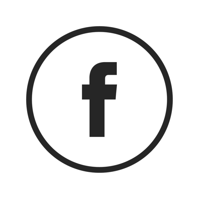 640x640 Facebook Icon, Facebook, Black, White Png And Vector For Free Download