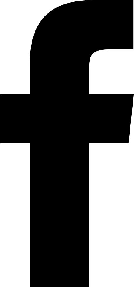 458x980 Facebook Icon Black And White Free