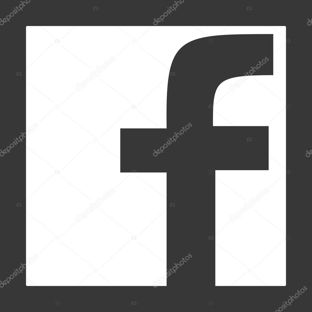 1024x1024 Results For Facebook Icon Black And White Free