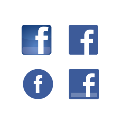 400x400 Facebook Icon Vector Logo Free Download