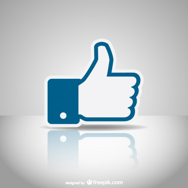 626x626 Social Media Like Icon Vector Free Download