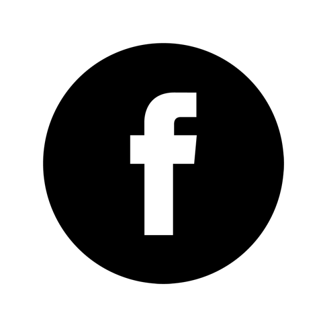 640x640 Facebook Black Ampamp White Icon, Facebook, Face, Book Png And