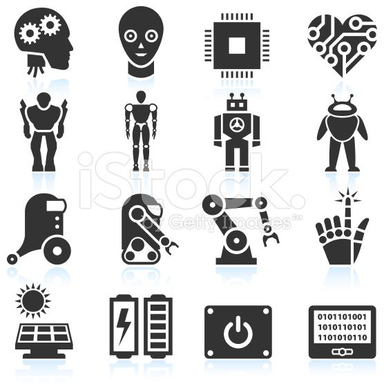 556x556 Fb Icon Vector Futuristic Robotics And Artificial Intelligence
