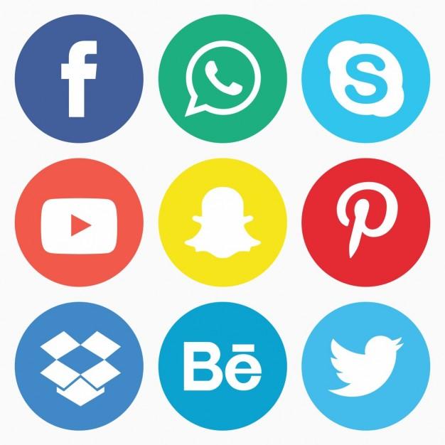 626x626 Free Round Facebook Icon Vector 421557 Download Round Facebook