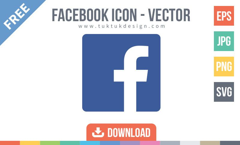 800x486 Facebook Icon Free Vector Image Free Icons
