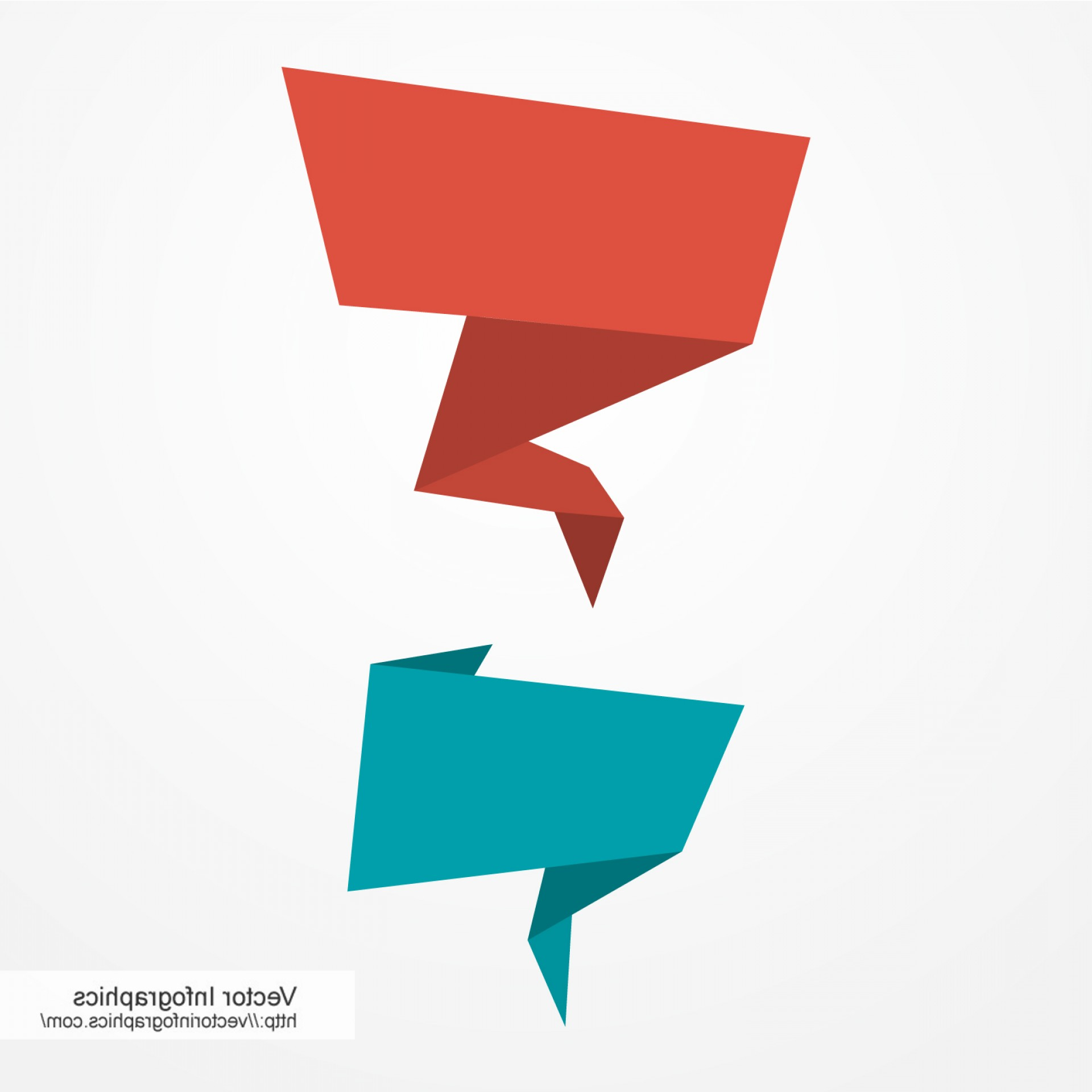 1920x1920 Paper Speech Bubbles Free Vector Arenawp